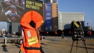 Bruxelas, palco de uma operação antiterrorista e de uma nova cúpula dos líderes europeus depois do plano negociado com a Turquia sobre migração na Europa.