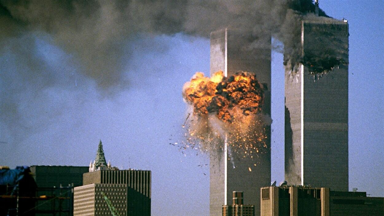 Twin Towers attacked September 11 2001