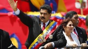 Nicolas Maduro, le 5 mars 2014 à Caracas.