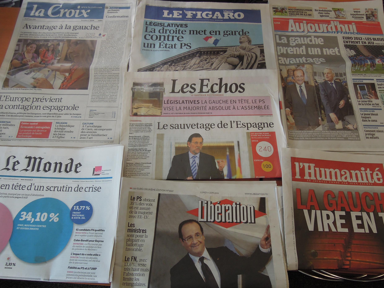 Jornais franceses