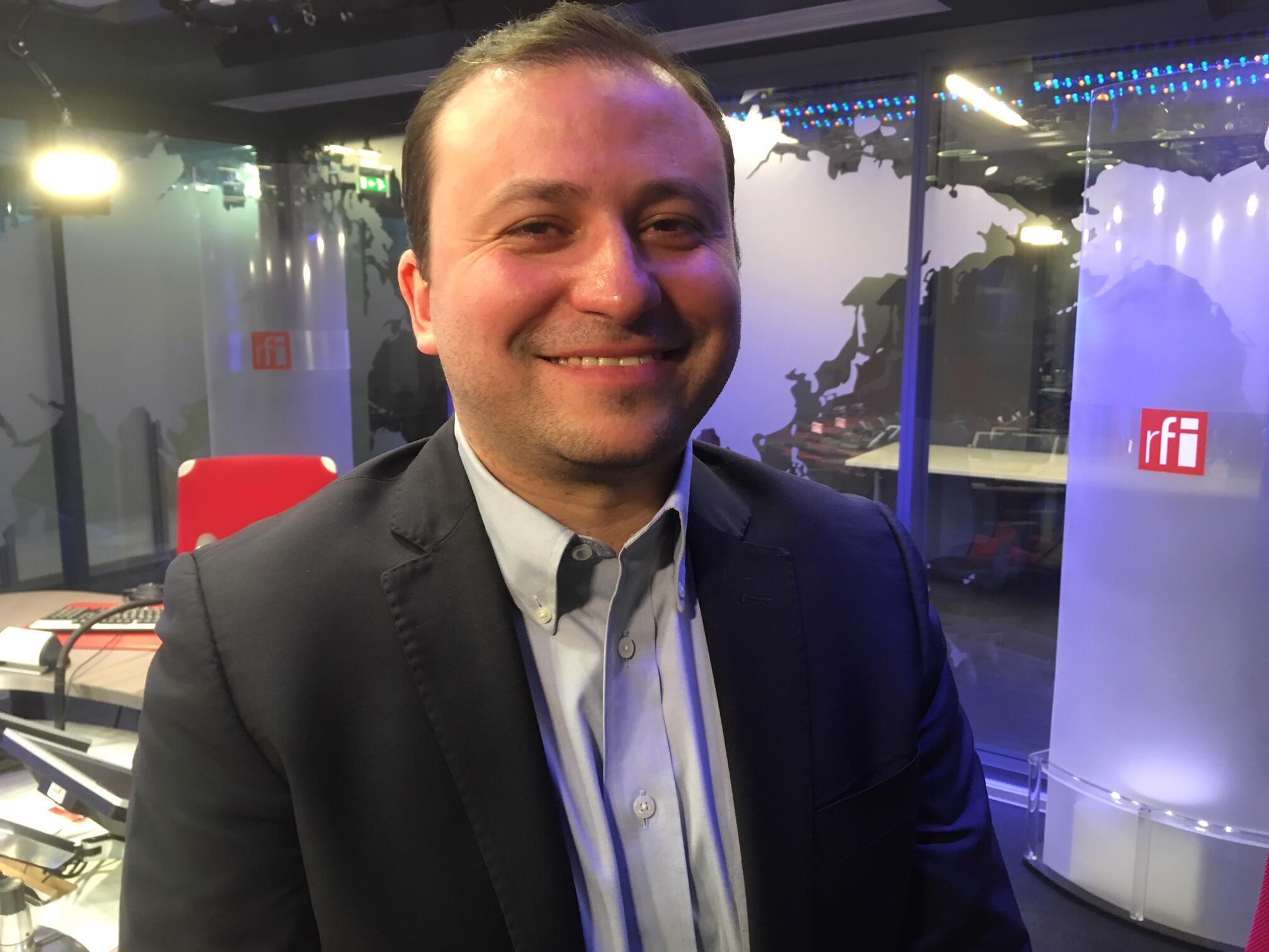 O Cientista político Gaspard Estrada