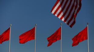 Donald Trump đang dẫn trước trong cuộc chiến thương mại Mỹ-Trung. Ảnh minh họa.