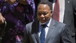 Le vice-président sud-africain Kgalema Motlanthe le 7 octobre 2011 à Cape Town.