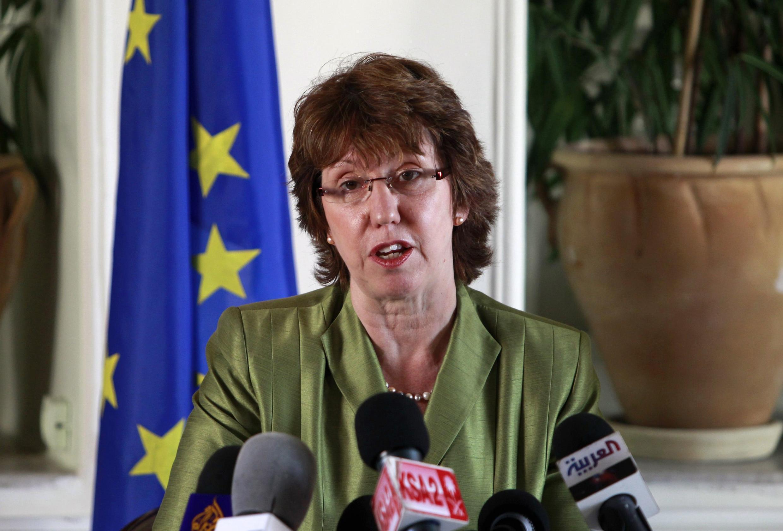 La jefa de la diplomacia europea Catherine Ashton
