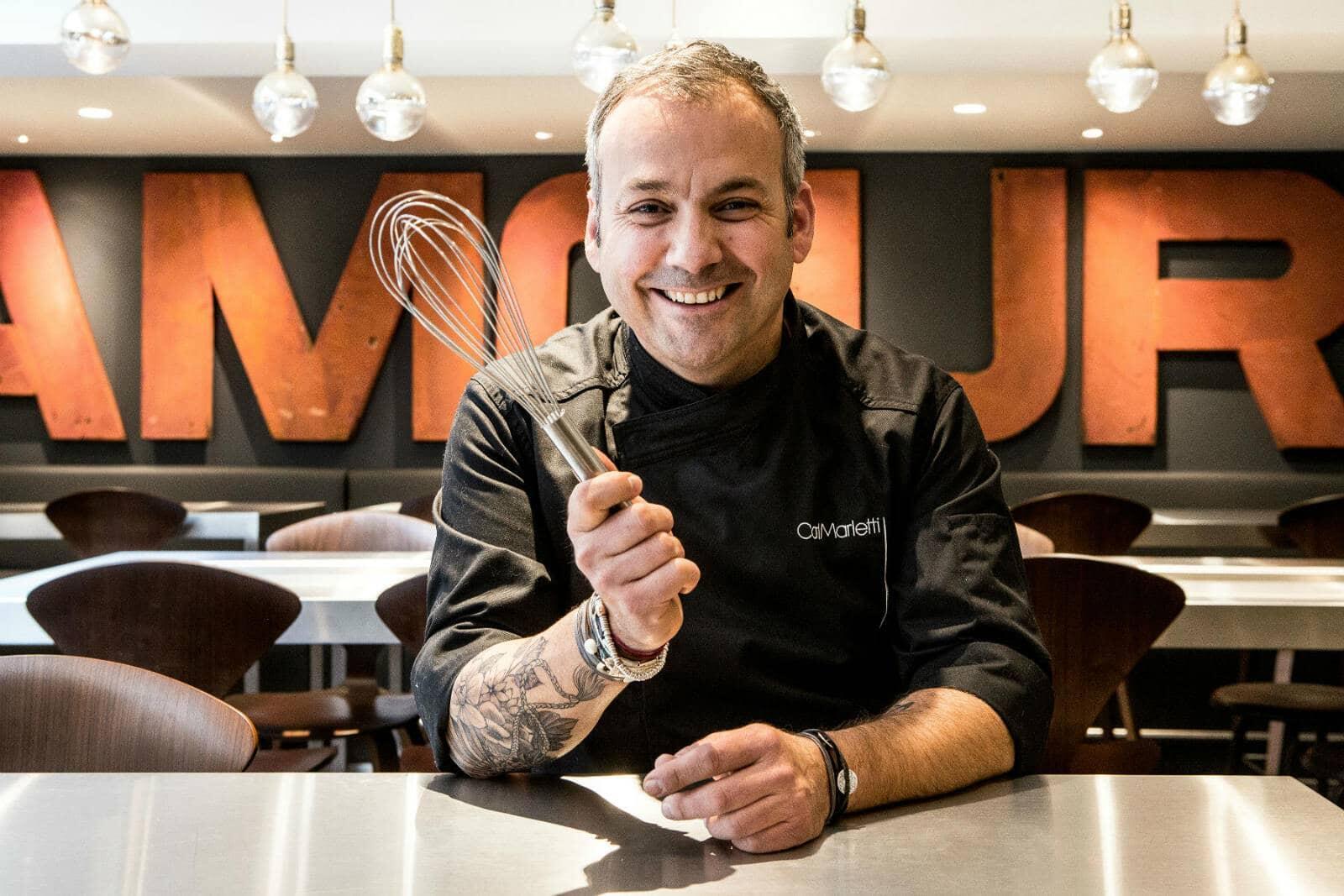 Le chef pâtissier Carl Marletti.