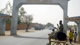 Vue de Maradi, troisième ville du Niger. De nombreux Nigérians y ont trouvé refuge depuis un an.