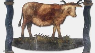 «Au bœuf normand», début du XIXème siècle, enseigne d'aubergiste parisien Collection du musée Carnavalet – Histoire de Paris.