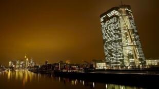Nueva sede del Banco Central Europeo, Frankfurt, 19 de enero de 2016.