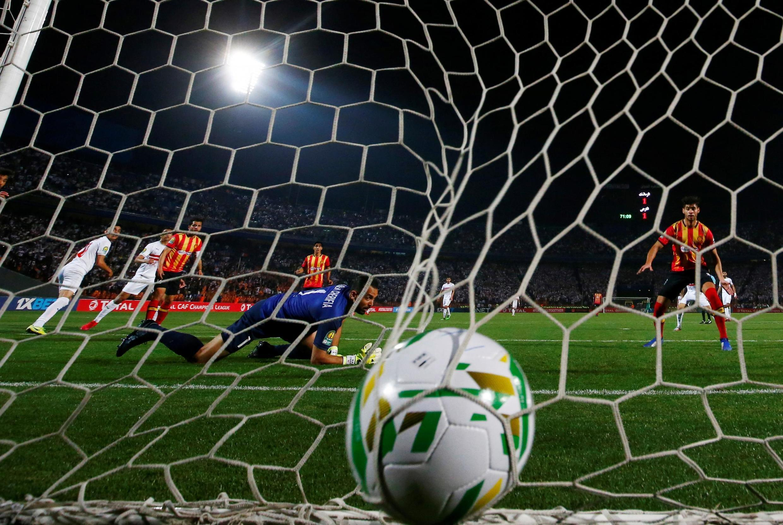 Lors du match Zamalek-Espérance Tunis, en quarts de finale aller de la Ligue des champions 2020.