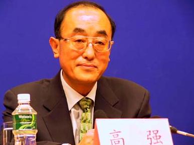 中國衛生部原部長高強資料圖片