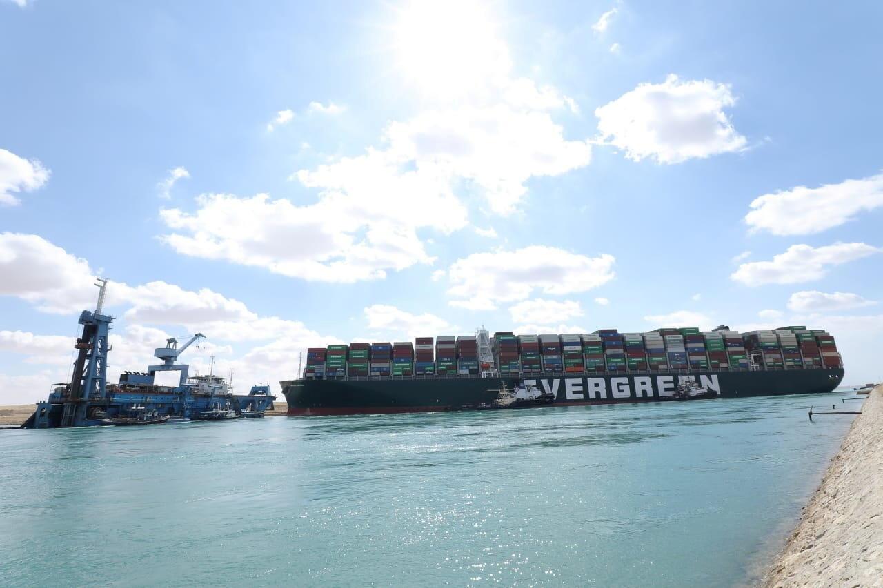 Ever Given Canal de Suez