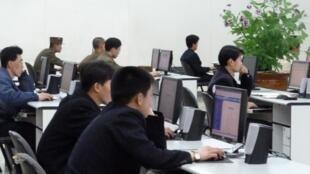 Selon Simon Choi, il y a eu une recrudescence, juste après l'annonce du sommet Kim-Trump, d'attaques informatiques ciblant des fonctionnaireset des diplomates sud-coréens en charge des liens avec le Nord (photo d'illustration).