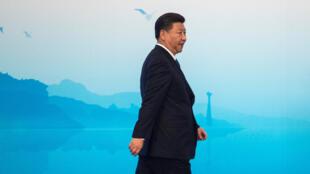 Chủ tịch Trung Quốc Tập Cận Bình tại thượng đỉnh BRICS, Hạ Môn (Xiamen), Phúc Kiến, Trung Quốc, ngày 5/9/2017.