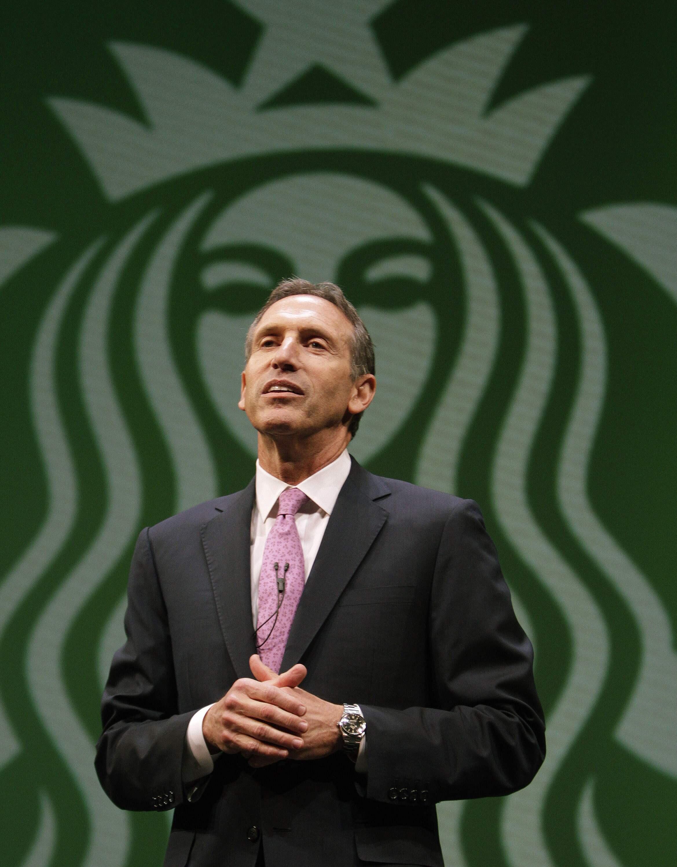 Le président de Starbuck Howard Schultz ne veut pas de clients armés dans ses cafés.