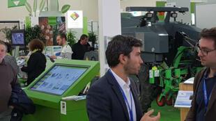 Le 32ème Salon international des techniques de productions végétales à Angers.