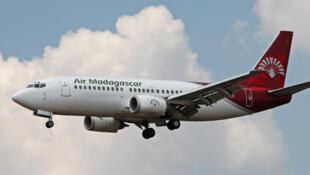 Un Boeing 737-300 de la compagnie Air Madagascar.