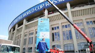 Luzhniki Stadium, local da cerimônia de abertura e do jogo de estreia da Copa de 2018.