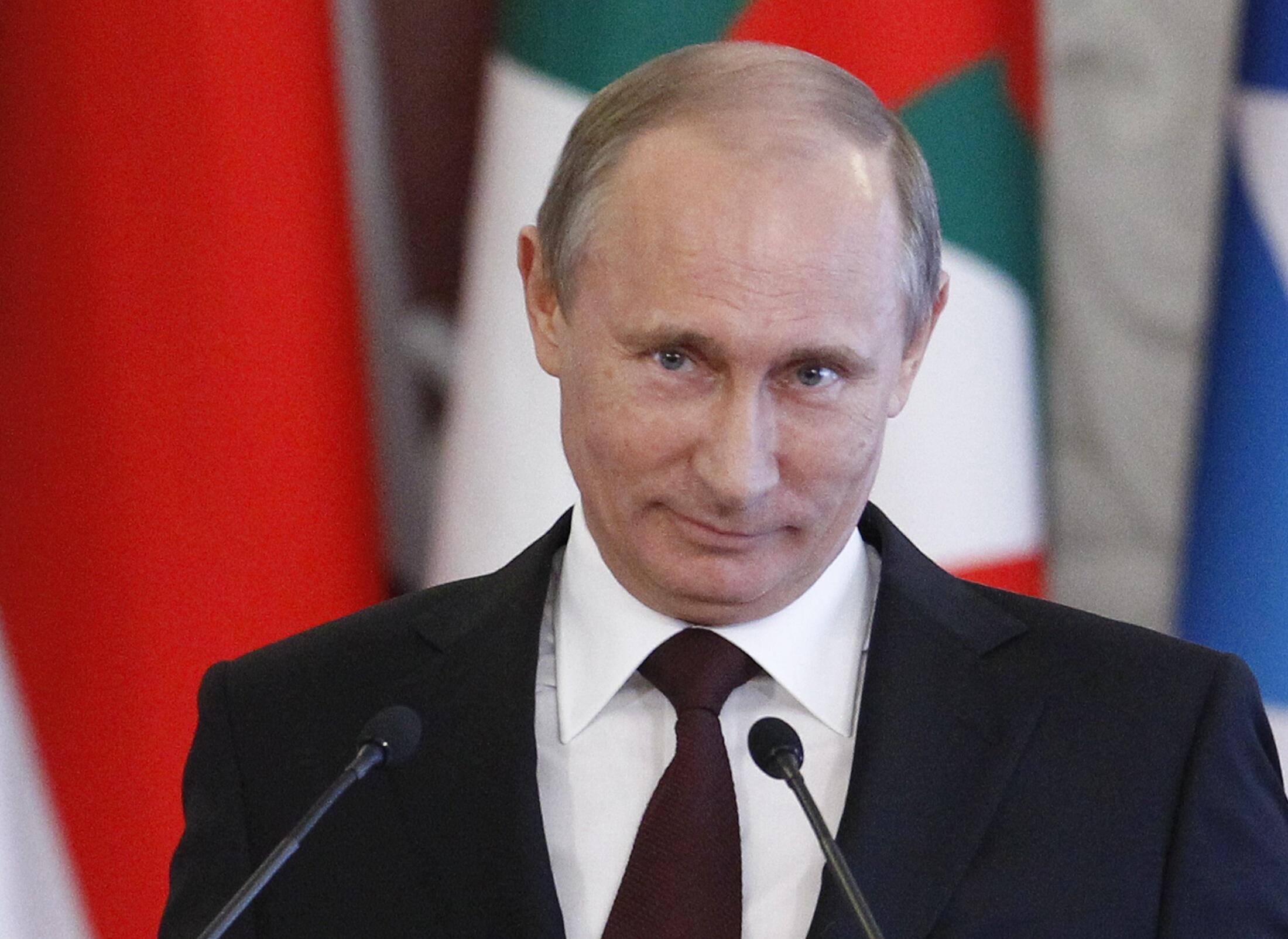 Владимир Путин в Кремле 01/07/2013