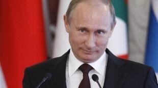 Rais wa Ursi Vladimir Putin