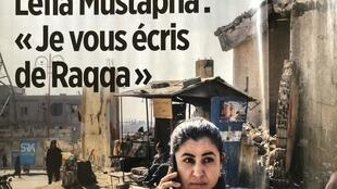 Leïla Mustapha, que se tornou prefeita de Raqqa, ajuda a reconstruir.
