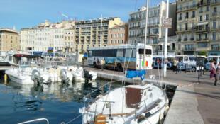 Marseille. Le Vieux-Port.