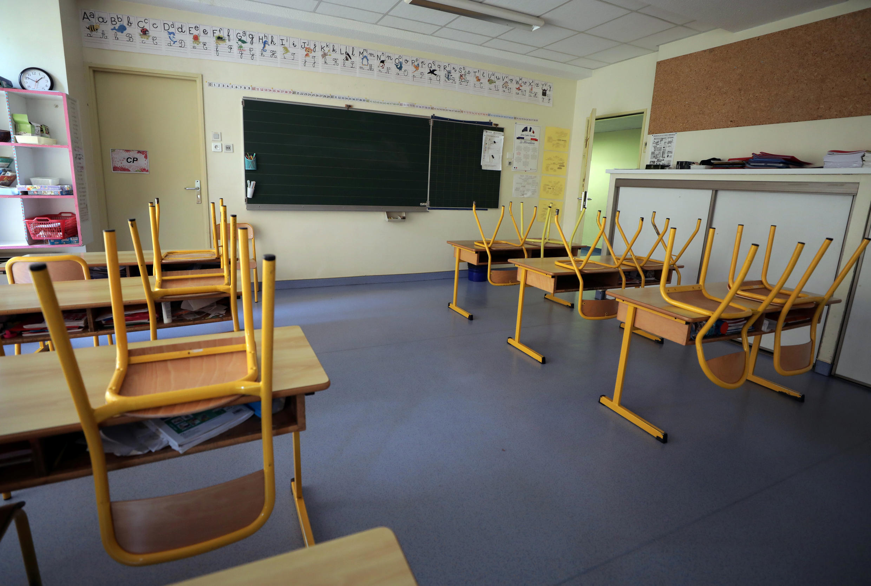 Các trường học tại Pháp sẽ lần lượt được mở cửa trở lại kể từ ngày 11/05/2020. Ảnh minh họa chụp ngày 22/04/2020 tại Nice (Pháp).