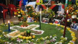 Un enterrement mexicain dans la région du Chiapas.
