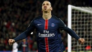 Zlatan Ibrahimovic scored twice to turn the cup tie PSG's way.