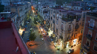 Le quartier de Rione Sanità à Naples, en Italie (image d'illustration)
