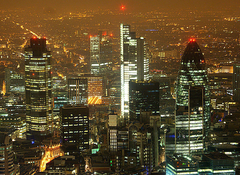 La City londinense.