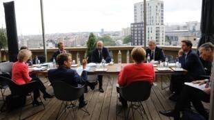 欧盟及其成员国部分领导人资料图片