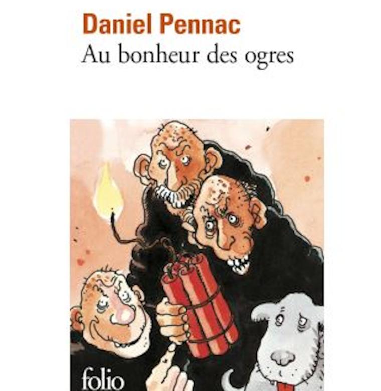 Couverture du roman «Au bonheur des ogres» de Daniel Pennac.