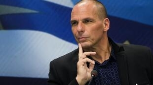 O ministro grego das Finanças, Yanis Varoufakis.