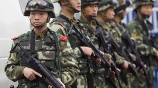 A China se tornou o terceiro maior exportador de armas no mundo.