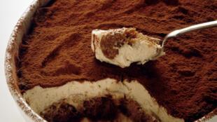Le Tiramisù, l'un des desserts italiens les plus célèbres au monde.