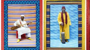 Colors of Gnawa par Hassan Hajjaj.