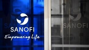 The Sanofi corporate logo.