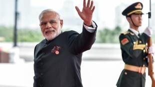 Thủ tướng Ấn Độ Narendra Modi tại G20 Hàng Châu, 04/09/2016.