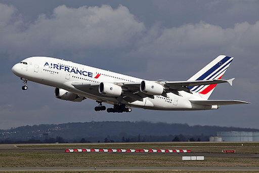 Un avion A380 de la compagnie Air France (Illustration).