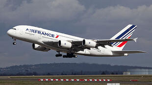Un avion A380 de la compagnie Air France (Illustration).