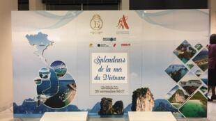 """Buổi giới thiệu """"Rực rỡ biển Việt Nam"""" (Splendeurs de la mer du Vietnam), ngày 22/11/2017, Paris, Pháp."""