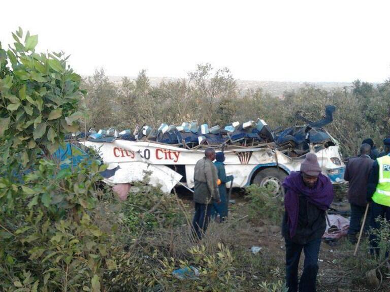 Ajali ya barabarani nchini Kenya