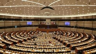 Parlamento Europeu, em Bruxelas.