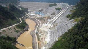 Le barrage de Bakun.
