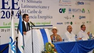 El seminario de OLADE en Nicaragua sobre energía contó con la presencia de autoridades locales y más de cien expertos en el tema energético.