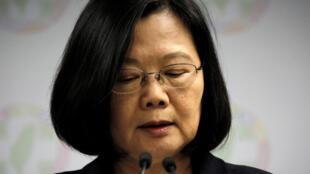 La présidente taïwanaise Tsai ing-wen a annoncé sa démission de la tête de son parti, le DPP, suite au revers électoral de ce week-end, le 24 novembre 2018.