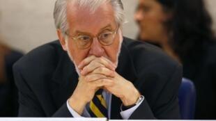 Paulo Sérgio Pinheiro, presidente da Comissão de Investigação das Nações Unidas. para a Síria.