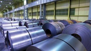 Laminadora de aço situada em Calvert, no Estado do Alabama, com capacidade de produção anual de 5,3 milhões de toneladas de material laminado.