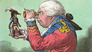 Napoleon and King George III by James Gillray in 1803