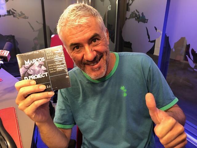 O músico brasileiro Marcos de Oliveira